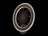 Светодиодный светильник бра  цвет черный 951, фото 1
