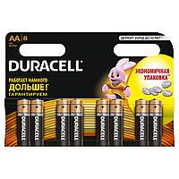 Батарейки DURACELL Basic AA 1.5V LR6 8шт (5000394006522)