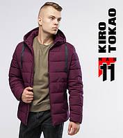 Зимняя куртка мужская Kiro Tokao - 6008 бордовый