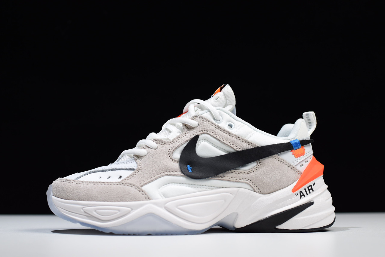 Кроссовки Nike M2K Tekno Off-White (Белые)
