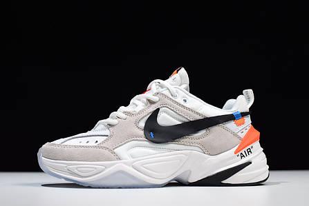 Кроссовки Nike M2K Tekno Off-White (Белые), фото 2