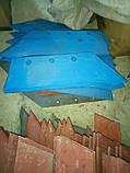 Лемех плуга Bomet  кованый, высококачественная сталь устойчивая к износу. Усиленный. Широкий., фото 4