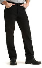 джинсы Lee Regular Fit Straight Leg Jean Double Black
