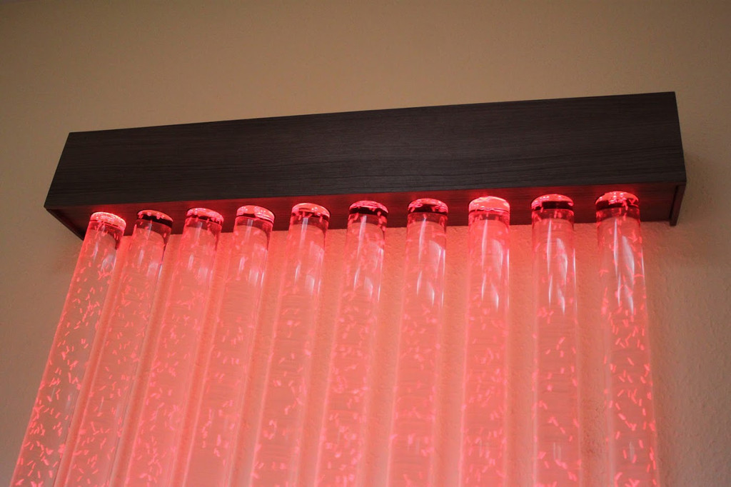 Пузырьковая колоннада в офисе 3