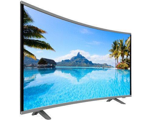 """Телевизор жидкокристалический COMER 39"""" Smart E39DU1000 Изогнутый экран многофункциональный"""