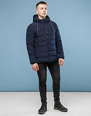 11 Киро Токао | Куртка мужская зимняя 6016 т-синяя, фото 2