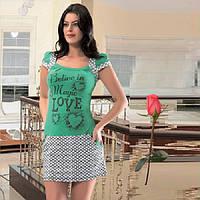 Трикотажное платье  для дома и отдыха Т 18360