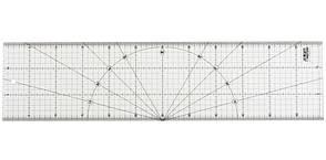 Линейка метрическая разметочная. OLFA MQR-15x60