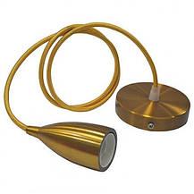 Подвесной светильник на текстильном шнуре EDISON, фото 2