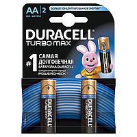 Батарейки DURACELL TurboMax AA 1.5V LR6 2шт (5000394069183)