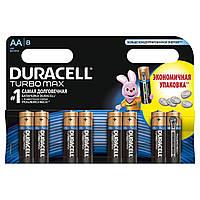 Батарейки DURACELL TurboMax AA 1.5V LR6 8шт (5000394011199)