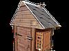 Коптильня 250л -холодного и горячего копчения, +просушка. Ольха  внутри, крыша домиком, фото 5