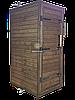 Электростатическая Коптильня 550 л -холодного и горячего копчения, +просушка. Нержавейка внутри, крыша плоская, фото 3