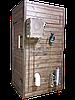 Электростатическая Коптильня 550 л -холодного и горячего копчения, +просушка. Нержавейка внутри, крыша плоская, фото 4