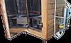 Электростатическая Коптильня 550 л -холодного и горячего копчения, +просушка. Нержавейка внутри, крыша плоская, фото 10