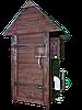 Коптильня 250 л -холодного и горячего копчения, +просушка. Нержавейка внутри, крыша домик, фото 3