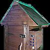Коптильня 250 л -холодного и горячего копчения, +просушка. Нержавейка внутри, крыша домик, фото 6