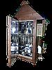 Электростатическая Коптильня 250 л -холодного и горячего копчения, +просушка. Нержавейка внутри, крыша домиком, фото 4