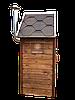 Электростатическая Коптильня 250 л -холодного и горячего копчения, +просушка. Нержавейка внутри, крыша домиком, фото 5
