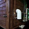 Электростатическая Коптильня 250 л -холодного и горячего копчения, +просушка. Нержавейка внутри, крыша домиком, фото 6