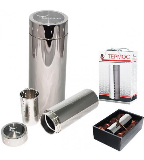 Термос подарочный Toscana с фильтром 290мл