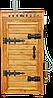 Коптильня 550л -холодного и горячего копчения, +просушка. Ольха  внутри, крыша плоская, фото 6