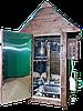 Коптильня 550л -холодного и горячего копчения, +просушка. Нержавейка внутри, крыша домиком, фото 5