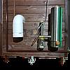 Коптильня 550л -холодного и горячего копчения, +просушка. Нержавейка внутри, крыша домиком, фото 7