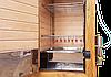 Электростатическая Коптильня 550л -холодного и горячего копчения, +просушка. Ольха  внутри, крыша плоская, фото 2