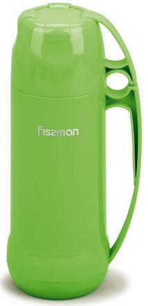 Термос Fissman Emerald 450мл зеркальная колба с крышкой-чашкой