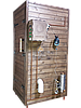 Коптильня 1300л -холодного и горячего копчения, +просушка. Нержавейка внутри, крыша плоская, фото 2