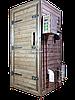 Коптильня 1300л -холодного и горячего копчения, +просушка. Нержавейка внутри, крыша плоская, фото 3