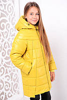 Куртка «Николь», горчица зима с 32 по 42 размер (мф)