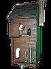 Коптильня 1300л -холодного и горячего копчения, +просушка. Нержавейка внутри, крыша домиком, фото 2