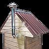 Коптильня 1300л -холодного и горячего копчения, +просушка. Нержавейка внутри, крыша домиком, фото 7