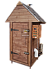 Электростатическая Коптильня 1300л -холодного и горячего копчения, +просушка. Ольха внутри, крыша домиком, фото 4