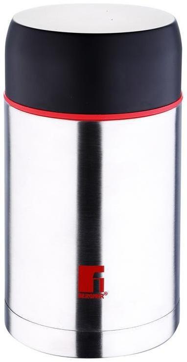Термос пищевой Bergner Hot Drink 1000мл, нержавеющая сталь