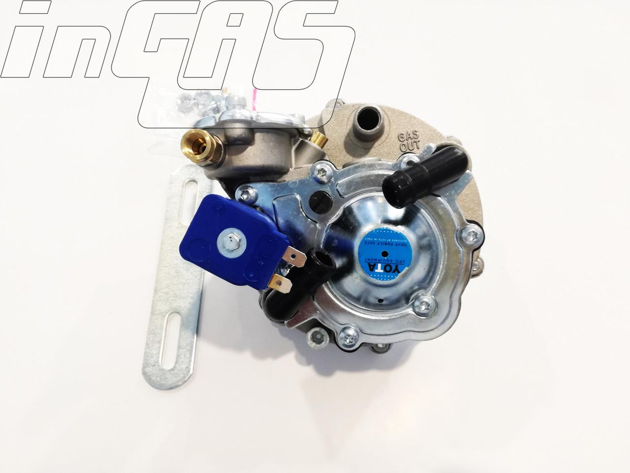 Редуктор  Yota АТ07 (пропан-бутан) 2-3-е пок.,  100 л.с. (до70 кВт),D6/D20