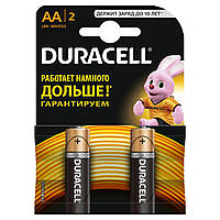 Батарейки DURACELL Basic AA 1.5V LR6 2шт (5000394058163)
