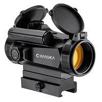 Прицел коллиматорный Barska AR-X Red Dot 1x30 HQ (Weaver/Picatinny) на быстросъемном креплении.
