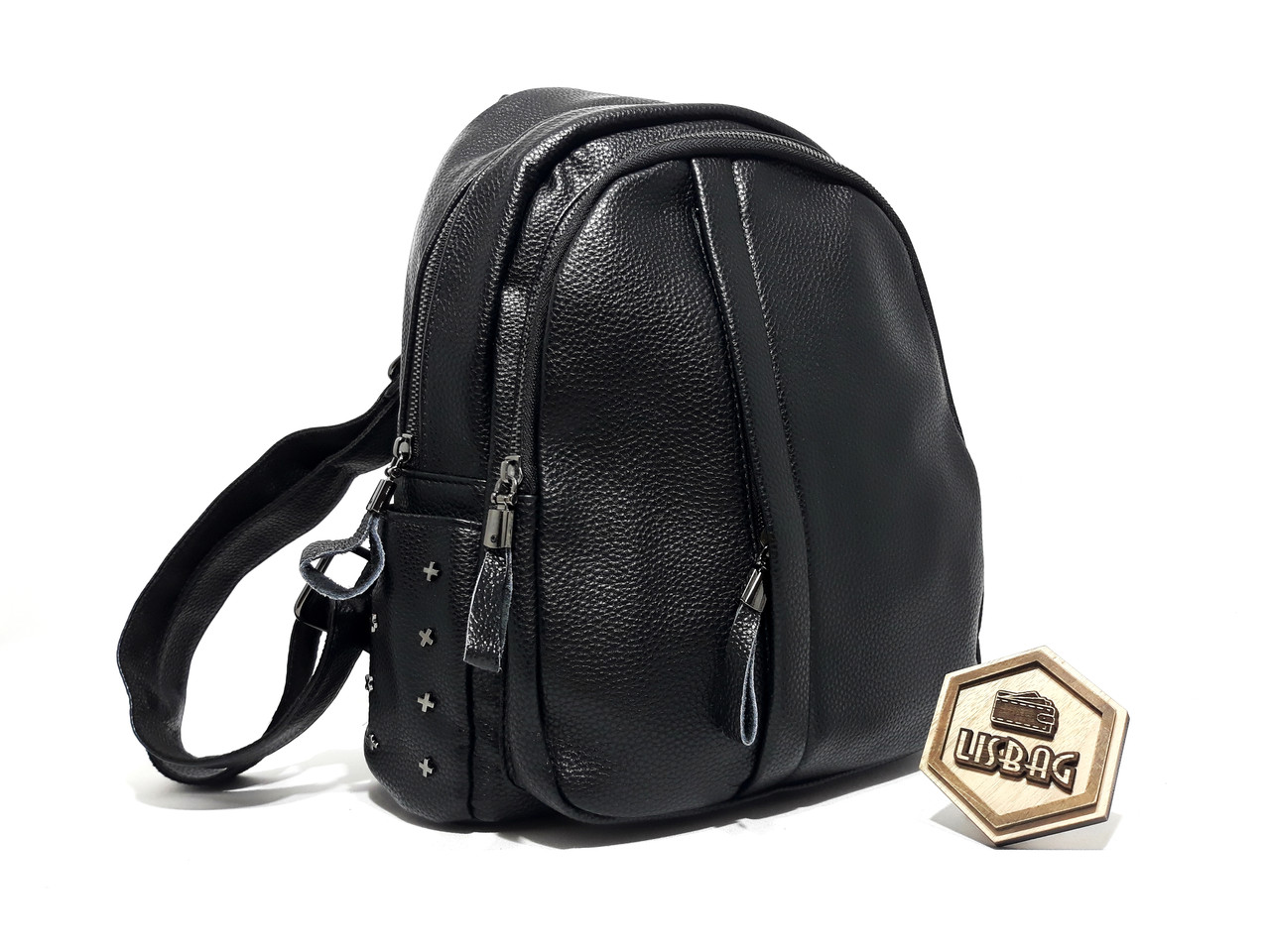 e7b91b594354 Жіночий рюкзак середнього розміру на кожен день, Чорного кольору ...
