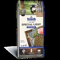 Сухой корм Бош Спэшел Лайт (Bosch Special Light) с пониженным содержанием белка и минеральных веществ, 12.5 кг