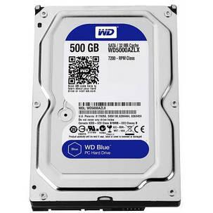 """Жесткий диск 3.5"""" 500Gb Western Digital (#WD5000AZLX-FR#), фото 2"""