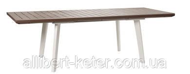 Розкладний стіл HARMONY EXTENDABLE TABLE капучіно (Keter)