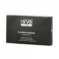Nirvel Reconstituted Plant Placenta Fresh Effect Ампулы против выпадения волос с плацентой(цена за 1 ампулу)