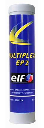 Смазка литиевая ELF MULTIPLEX EP2 0,4л (зеленая), фото 2