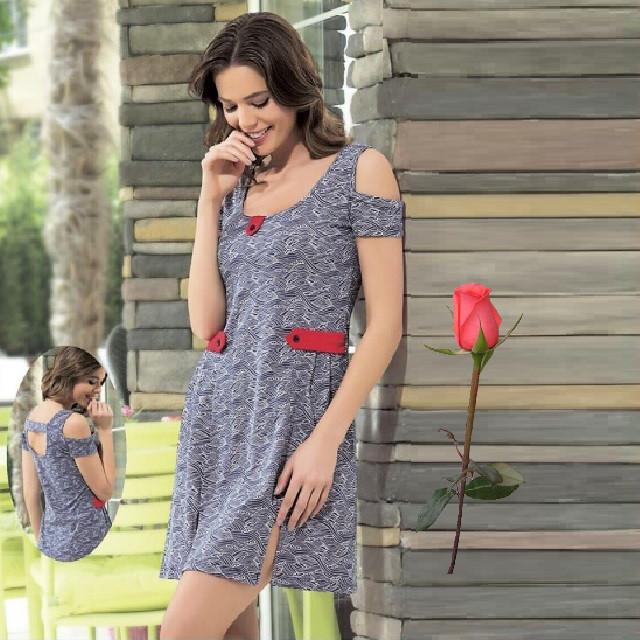 Женское трикотажное платье   Т 44440