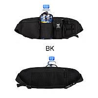 Армейская тактическая поясная сумка черная