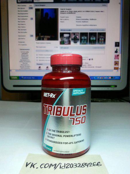 MET-Rx Tribulus 750 90 капсул