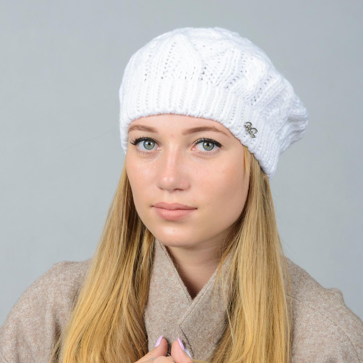 bf93d1a445b4 Вязаные женские береты оптом: купить береты оптом, цена в Хмельницком,  береты ...